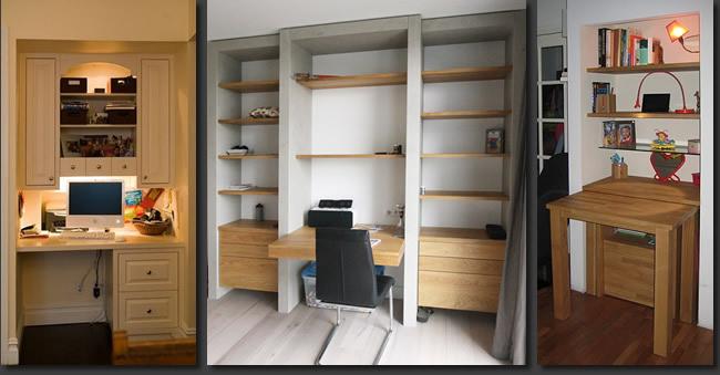 Bureau kast combinatie binnen open werkplek met string kast u huis